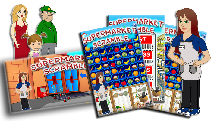 Supermarket Scramble Game Information Page